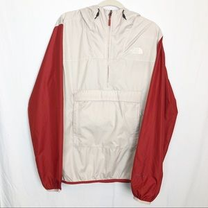 The North Face Men's Red Fanorak Anorak Windwall